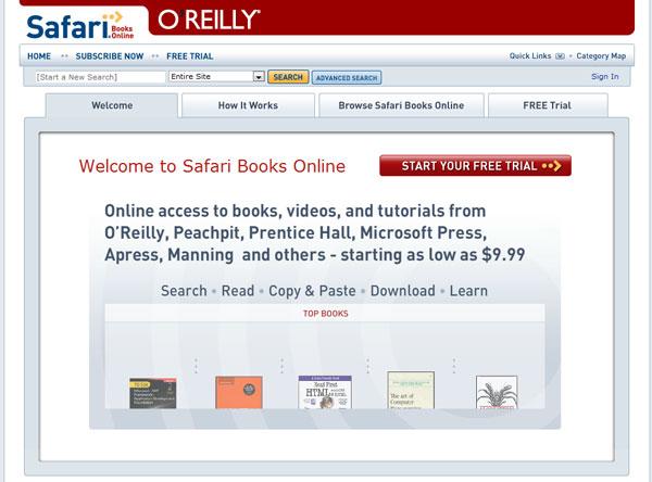 Safari book online